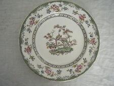 C4 Porcelain Copeland Spode Peacocks Plate Medium 23cm 1D4A
