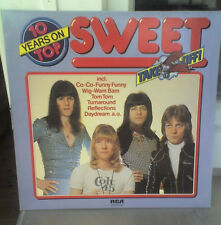 The Sweet  10 Years On Top LP 1982