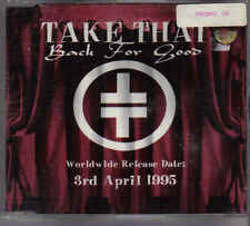 Take That-Back For Good Promo cd single