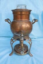 Antique Copper Percolator Coffee Pot Landers Frary & Clark