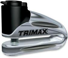TRIMAX T665LC MOTORCYCLE DISC LOCK CHROME 10mm 4010-0182 348001