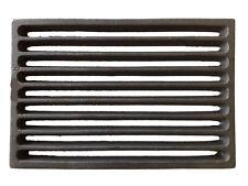 Feuerrost, Ersatzteil, Ofenrost, Gußrost,Kaminrost,Gusseisen, 14 x 24 cm