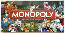 NEW SEALED Disney Parks Villains Monopoly Collector's Edition - Hard to Find