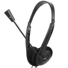 OVLENG OV-L900MV 3.5mm Headset with Microphone for ComputerDeskColor Black
