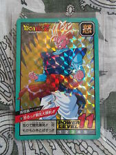 Carte Dragon Ball Z Double Prism Card DBZ Super Battle Power Level N°507 Part 12