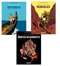 Comicpack SOKRATES DER HALBHUND 1-3 Christophe Blain Joann Sfar Reprodukt