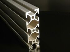 """TNUTZ - EX-1030 - Smooth 1"""" x 3"""" T-Slotted Aluminum Extrusion - 48"""" long."""