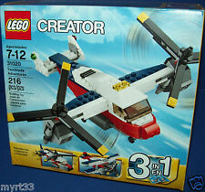 LEGO 31020 Plane Airplane TWINBLADE ADVENTURES  NISB Creator Retired 3 in 1