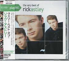 RICK ASTLEY-PLAYLIST THE VERY BEST OF RICK ASTLEY-JAPAN CD C25