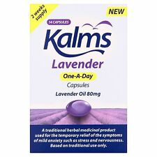 Kalms Lavender One-A-Day Capsules Lavender Oil 80mg - 14 Capsules