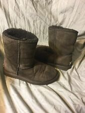 ugg australia classic short chocolate brown boots womens size 6 5825