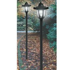 2 Pack Coach Style Post Lantern LED Solar Lights
