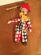 Vintage Shackman Toy Wood Puppet Marionette Doll Made in Japan