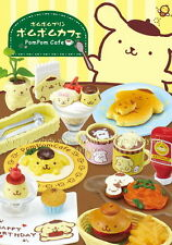 Miniatures Sanrio Pom Pom Purin Cafe Box Set - Re-ment  h#0330