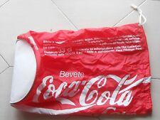 Coca Cola bag can unusual memorabilia used italian language