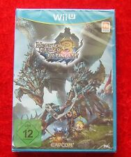 Monster Hunter 3 Ultimate, Nintendo WiiU Spiel Neu, deutsche Version