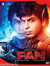 FAN *SHAH RUKH KHAN - OFFICIAL 2 DISC BOLLYWOOD DVD - FREE POST