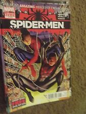 Spider-Men #1 of 5 (Aug 2012 Marvel) The Most Amazing Heroes of 2 Worlds ~ VF/NM