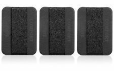 Lot of 3 Comfort Zone Elastic Suede Finger Strap iphone Note Galaxy Tablet Plus