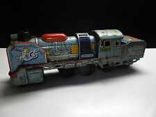 Ancien Train Daiya Japan Tin Toy Jouet en tole à friction