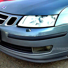 Universal Front Lip Splitter Chin Spoiler Body Valance Wing Air Dam SAAB & VOLVO