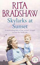 RITA BRADSHAW ___ SKYLARKS AT SUNSET __  SHOP SOILED ___ FREEPOST UK