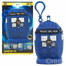 "Nouveau Doctor Who 4"" TARDIS à clipser Peluche Parlante Lumières & Sons Officel"