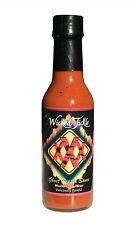 Ghost Pepper Hot Sauce Wicked Tickle XXX Naga Bhut Jolokia World's Hottest Sauce