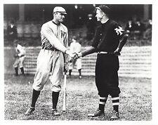 WALTER JOHNSON & CHRISTY MATHEWSON 8X10 PHOTO SENATORS MLB BASEBALL PICTURE