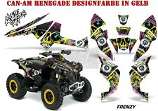 AMR RACING DEKOR KIT ATV CAN-AM RENEGADE,D250,DS450,DS650 GRAPHIC KIT FRENZY B