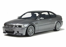 OTTO MOBILE BMW E46 M3 CSL SILVER GREY METALLIC 1:18 LE of 2000 pcs!*New Item!