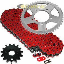 Red O-Ring Drive Chain & Sprockets Kit Fits SUZUKI GSX600F Katana 600F 1998-2006