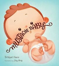 Mustache Baby by Bridget Heos (2016, Board Book)