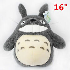 "TOTORO Stuffed Toy New 16"" Japanese Studio Ghibli My Neighbor Smiling Plush Doll"