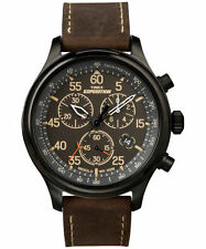 Timex Rugged Field Chronograph watch brown military camping hiking backpacking