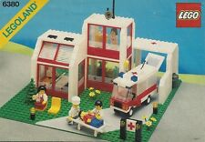LEGO Town Emergency Treatment Centre (6380) (Vintage)