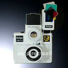 HOLGA 135BC TLR / 135BCTLR 160 Flash White Plastic Lens Film Camera Lomo