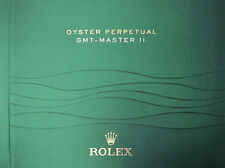 USED ROLEX GMT-MASTER II Manual Booklet English version