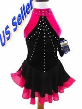 SALE Figure Ice Skating Dress Costume Dance Girls Child M