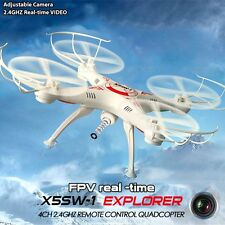 Quadcopter Drone X5SW-1 Wifi FPV 4Ghz 4CH RC Camera Drone with 2MP Drohne RTF RC