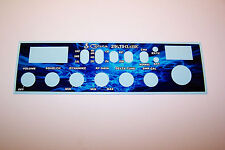 Cobra 29 LTD Side Mic Face Plate Decal CB Radio Any Design/Color Galaxy Connex