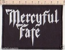 MERCYFUL FATE EMBROIDERED PATCH HEAVY BLACK METAL SATAN Metal Negro