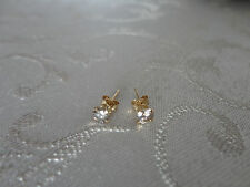 Splendidi orecchini con diamanti naturali oro 0,45ct gold diamond earrings 0.45