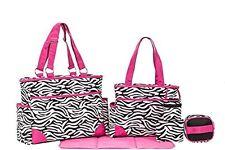 Baby Diaper Bags For Girls Shower Gifts Mom Set Zebra Print Stuff Infant Soho
