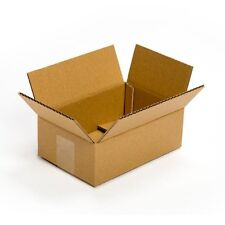 25 Pack 9x6x3 Cardboard Box Packing Shipping Mailing Storage Flat Cartons Moving