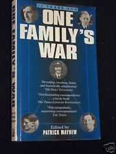 One Family's War-Patrick Mayhew-WWII UK Life-1995-1st Home Front Recollections