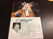 Wicked the Musical London Steven Pinder SIGNED Currently Playing A4 Card