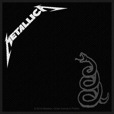 METALLICA - Patch Aufnäher - Black Album 10x10cm