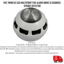 Fike Twinflex ASD Multipunto alarma de incendio Detector de humo y sonda, luz estroboscópica