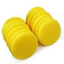 12pcs Car Auto Waxing Polish Foam Sponge Wax Cleaning Detailing Pads with Buckle